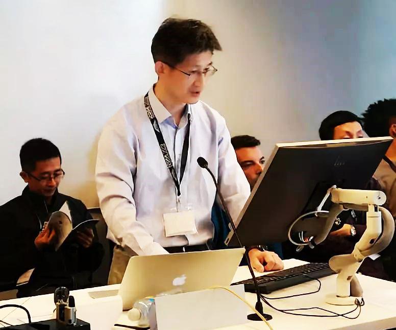 合合信息出席ICDAR 2019全球顶级AI竞赛冠军颁奖仪式